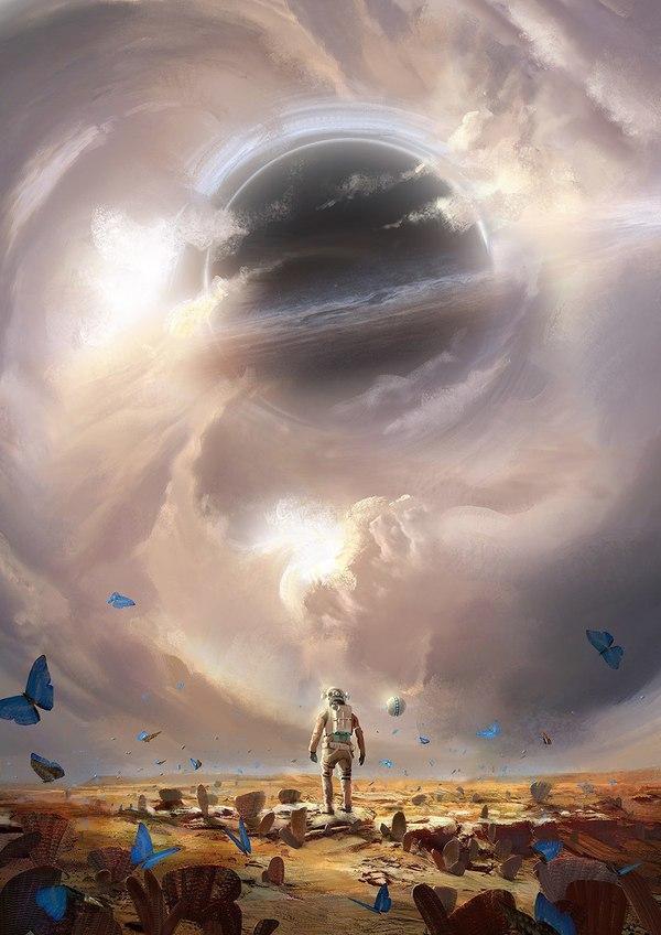 """""""Сон искателей приключений: разрушенный"""" Картинки, космос, арт, вселенная, рисунок, творчество"""