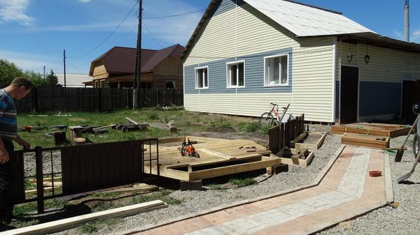 Стройка стройка Своими руками, Строительство, Усталость, Работа с деревом, Беседка, Длиннопост