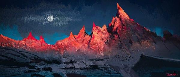 Потрясающие картины от Jason Scheier Арт, Фэнтези пейзажи, Jason Scheier, Длиннопост