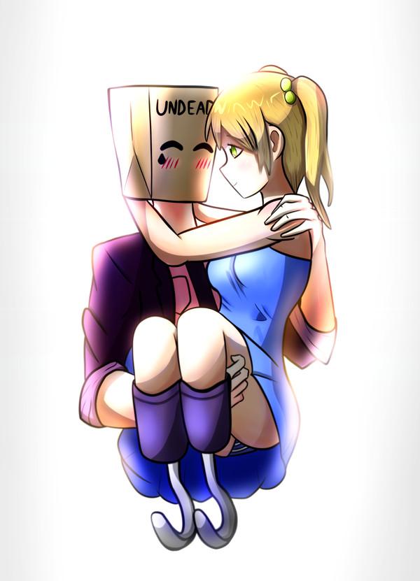 I like you, anon Рисунок, Anime art, Emi Ibarazaki, Katawa Shoujo, Визуальная новелла