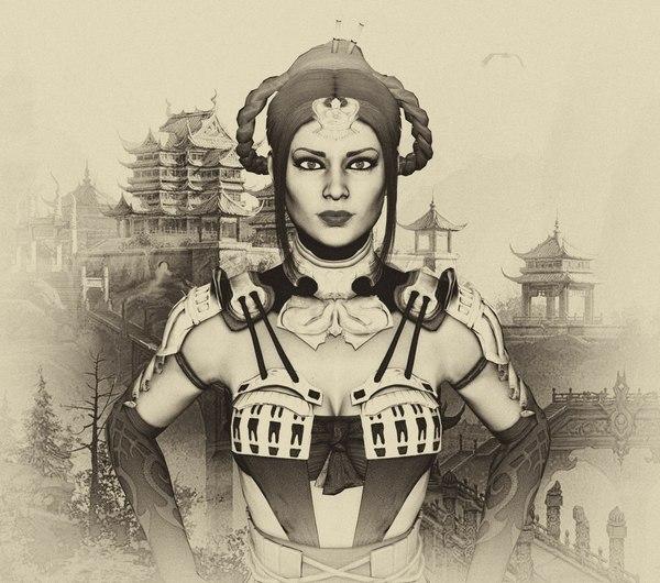 Принцесса Китана.