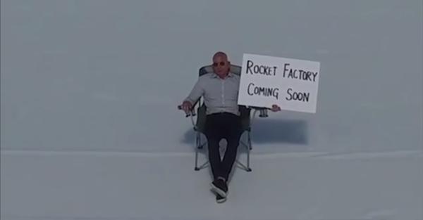 Глава Blue Origin и Amazon опубликовал видео со строящейся фабрики, на которой будут производиться орбитальные ракеты. New Glenn, Amazon, Джефф Безос, Космос, Ракета-Носитель, Технологии, Blue Origin, Видео