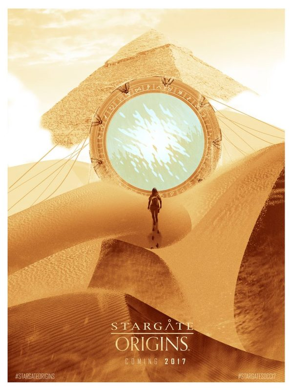 Stargate Origins был анонсирован на Comic-con 2017 Звездные врата, Sci-Fi, Comic-Con, Анонс, Сериалы, Видео, Длиннопост