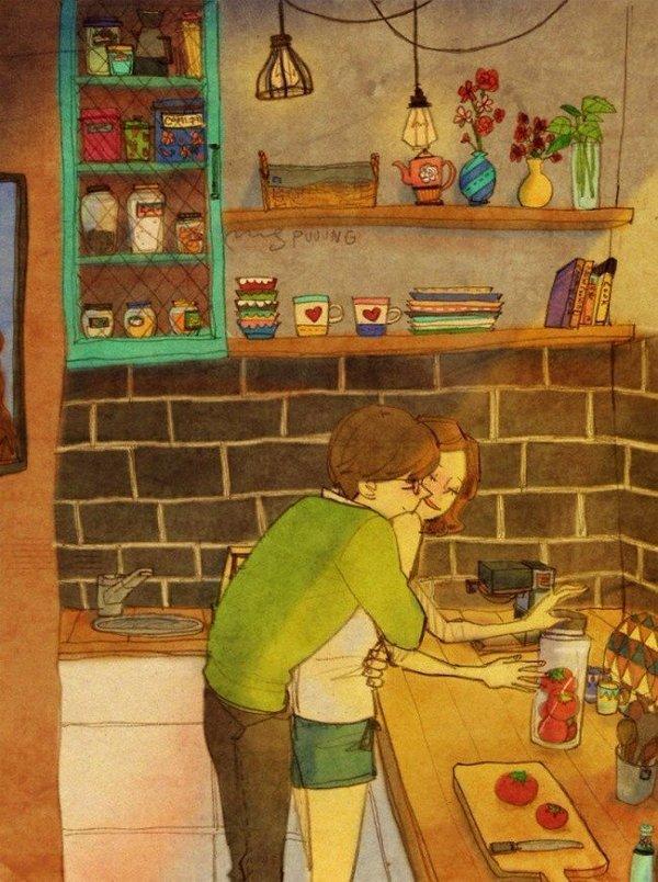 Истинная любовь скрывается в мелочах Любовь, Морковь, Картинки, Тепло, Длиннопост