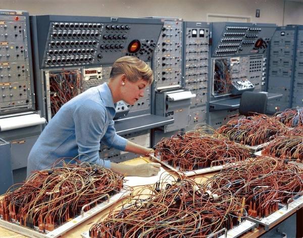 Так выглядели аналоговые компьютеры в 60-х analog, аналоговые компьютеры, компьютер, 60-е