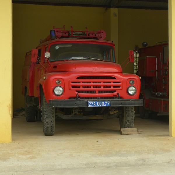 ЗиЛ во Вьетнаме. ЗиЛ, Вьетнам, машина, пожарная машина