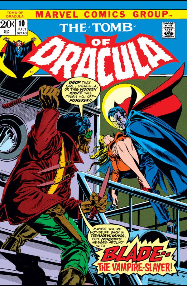 Знакомство с комиксами: The Tomb of Dracula #10 супергерои, Marvel, вампиры, дракула, Блейд, комиксы-канон, длиннопост