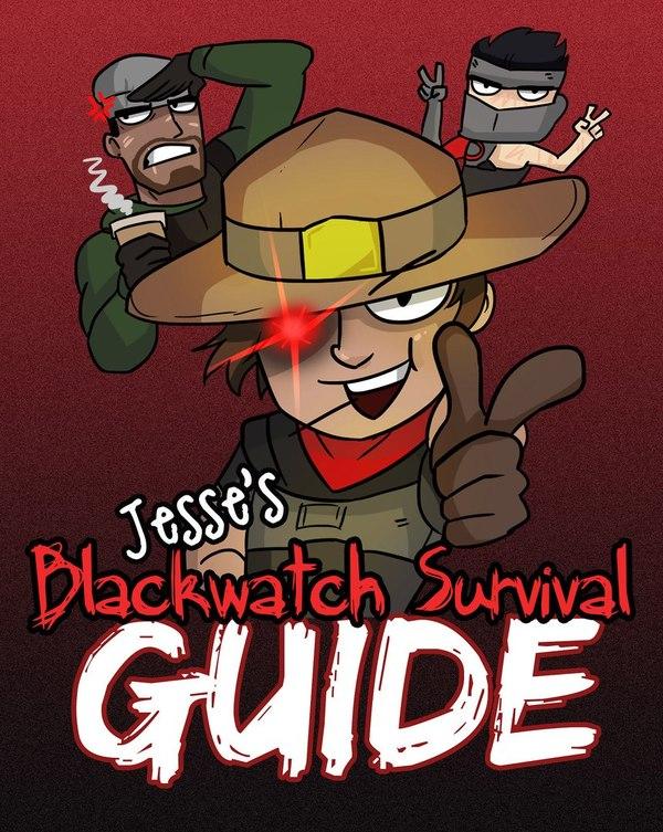 Гайд о том как выжить в Blackwatch. overwatch, blizzard, Игры, McCree, Genji, Ana Amari, длиннопост