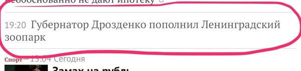 Как-то не сразу поняла заголовок Двусмысленные заголовки, Lentaru, губернатор, зоопарк