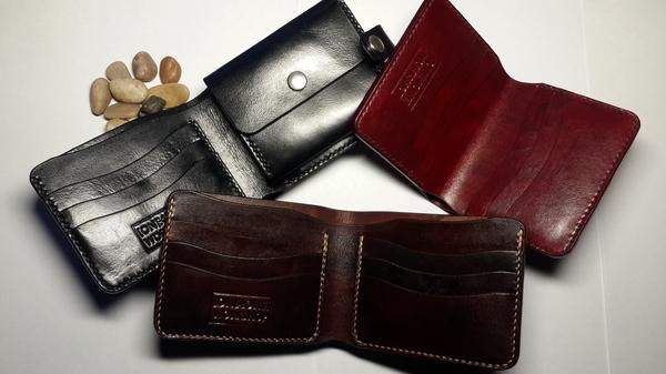 Bifold wallet ручной работы. Процесс. Длиннопост. рукоделие с процессом, кошелек, ручная работа, натуральная кожа, изделия из кожи, длиннопост