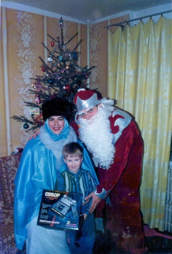 Снегуроч(ка) моё, детство 90-х, север, Новый Год