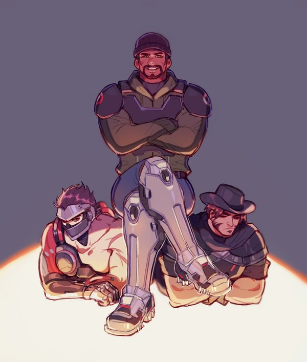 Раньше было лучше overwatch, Blackwatch, Talon, reaper, gabriel reyes, ttttt945