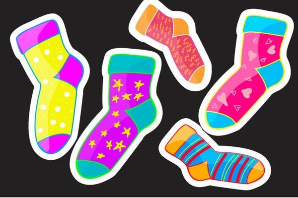 Как смешные носки сделают вас успешнее самооценка, успех, носки, наука, их мнение