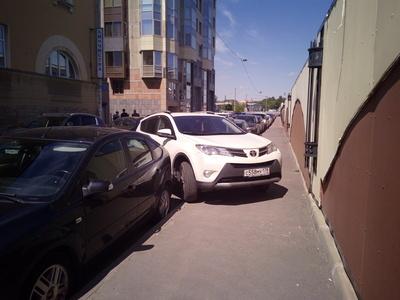 """Косплей """"Стопхама"""", и как не надо бороться с неправильной парковкой парковка, парковка на тротуаре, пдд, стопхам, Разборки, длиннопост"""