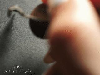 Особая притягательность чёрного цвета Artforrebels, Черный, Каллиграфия, Моё, Гифка
