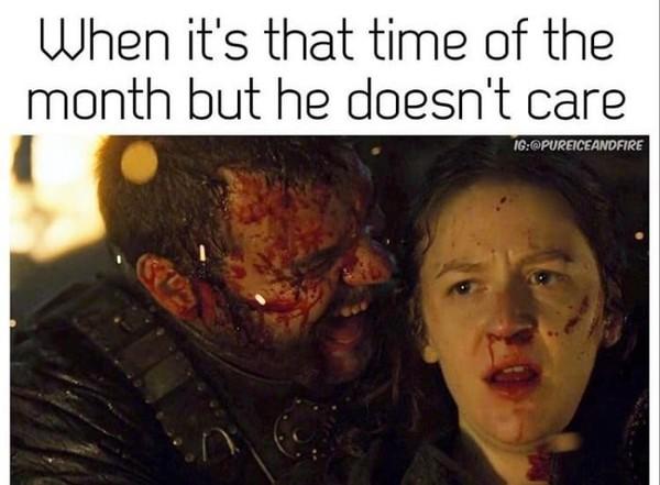 Когда у тебя эти дни, но его это не волнует
