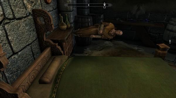 Настоящим магам не нужна кровать The Elder Scrolls V: Skyrim, Баги в играх, Магия