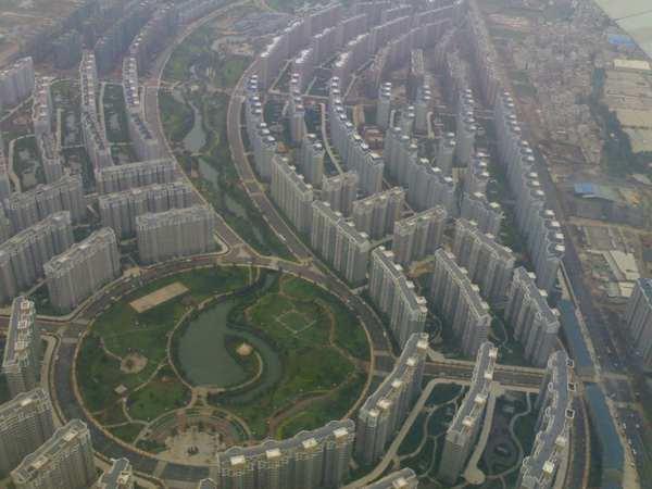 Новый микрорайон в Китае