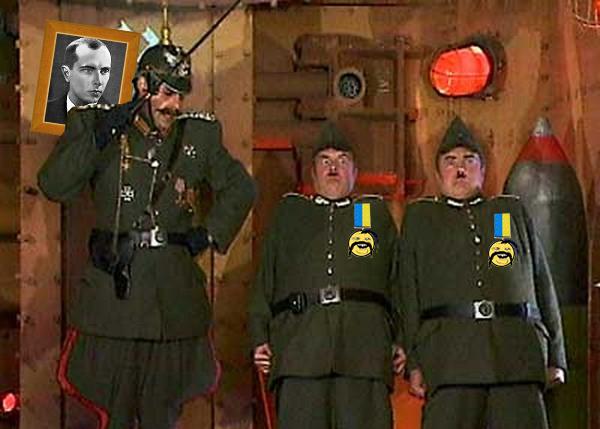 """Бандере """"привет"""" пусть передают. Украина, Диверсанты, ЛНР, Политика"""