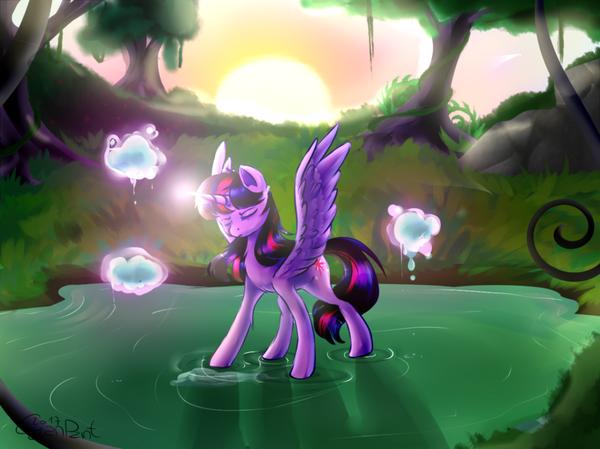 Тренировка Твайлайт. my little pony, Twilight Sparkle