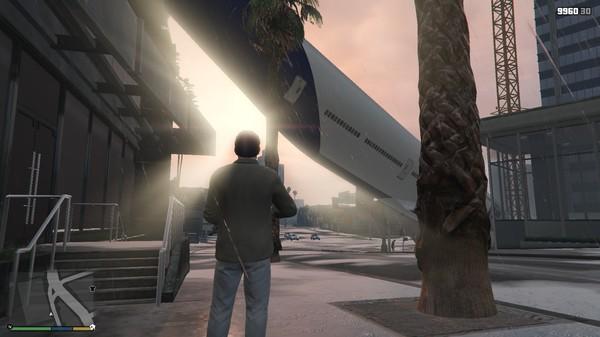 Помеха сверху GTA 5, Случайная ситуация, Помеха сверху