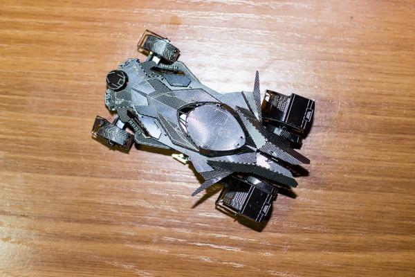 Сборка металлических моделей - БэтТачка металлические модели, сборка, бэтмен, бэтмобиль, Кривые руки, конструктор из металла, длиннопост