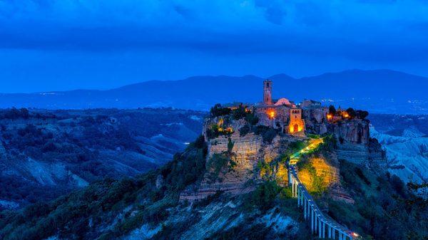 Чивита ди Баньореджо, Италия.