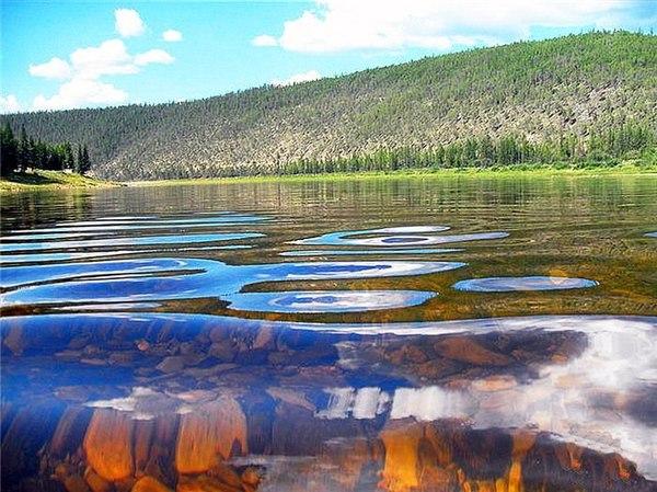 Амга - одна из живописнейших рек Якутии Якутия, Амга, красота природы Якутии, фотография, длиннопост