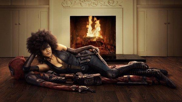Горячую мутантку показали на новых кадрах фильма «Дэдпул 2» Deadpool, Фильмы, комедия, Marvel, Комиксы
