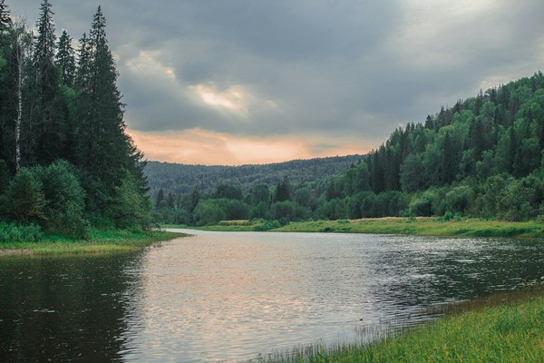 Река Вильва, Пермский край