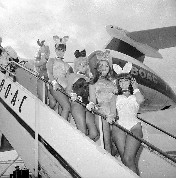 """""""Зайчики"""" Playboy, 60-е девушки, Подборка, прошлое, 20 век, фотография, Интересное, ретро, playboy, длиннопост"""