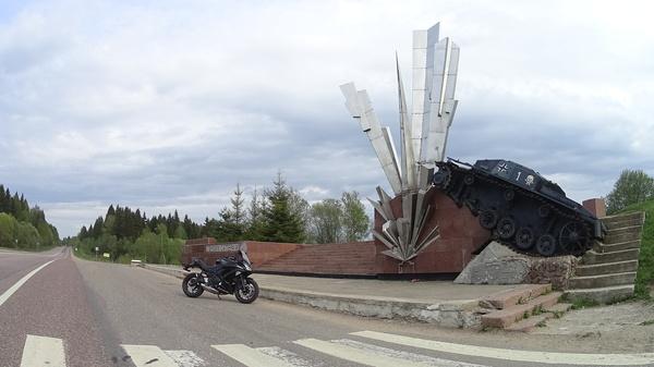 Необычный памятник Памятник, память, Великая Отечественная война, танки, фотография