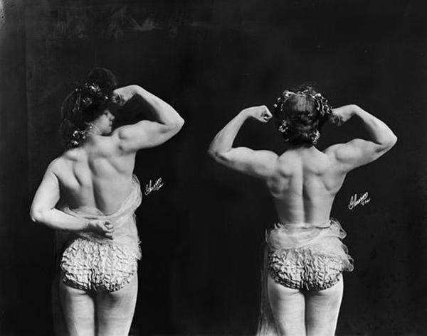 Цирковые борчихи и силачки: время, когда женщины могли побить мужчину и получить за это деньги прошлое, 20 век, Интересное, женщина, ретро, сила, история, цирк, длиннопост