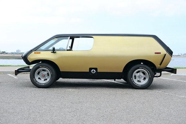 Самоделка 1972 года Brubaker Box Curtis Brubaker, Самоделки, Американское авто, 1972