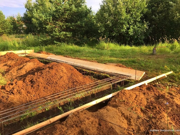 Строю свой дом за 90 дней. 4,5,6 дни. Вчера уже бетон залили для фундамента! строюсвойдом, Строительство, свой дом, фотография, моё, фундамент, livejournal, Казань, видео, длиннопост