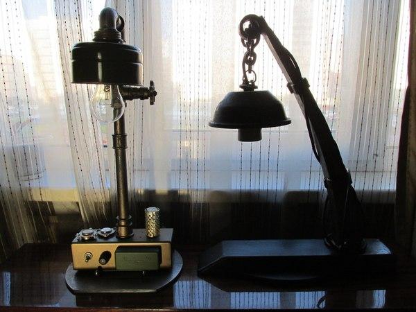 Про лампы и светильники. Ресайкл арт. лампа, светильник, ресайкл арт, Ресайклинг, творчество, техника, запчасти, рукоделие без процесса