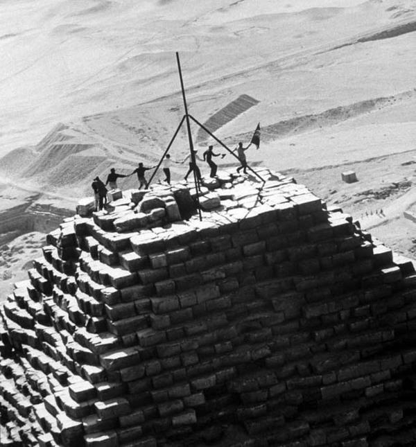 Почему нельзя забираться на пирамиду Древний Египет, Пирамида, Храм, Египтология, История, Археология, Видео, Длиннопост