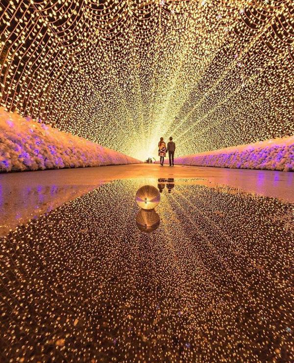 Сказочный туннель в Японии