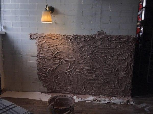 Имитация кирпичный стены своими руками школа ремонта, своими руками, лофт, кирпичная кладка, длиннопост