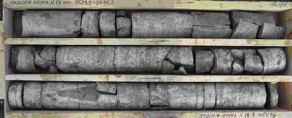 Удивительная находка с глубины 2000м Аммонит, Бурение, Палеонтология, Геология, Керн, Геологи