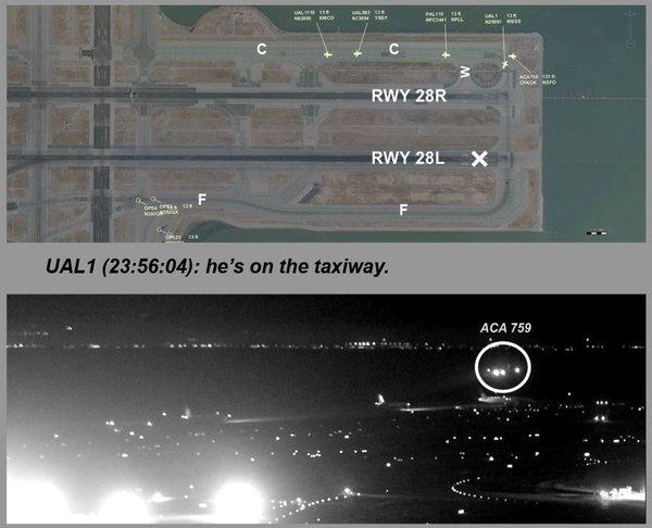 7 июля в Сан Фрациско чуть не случилась крупнейшая авиакатастрофа. air canada, пронесло, авиация