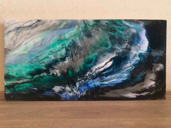 Картины из эпоксидки эпоксидная смола, Картина из эпоксидки, интерьерная живопись, арт, Современное искусство, длиннопост