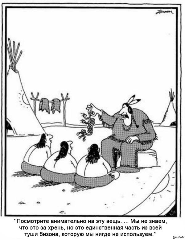 комикс про индейца и маму