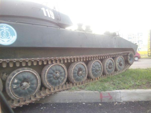 В Челнах уронили танк танки, Новости, набережные челны, дтп, дорога, ротозеи, растяпы, длиннопост
