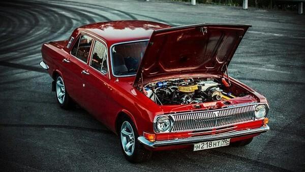 Газ 24, красивая машина, красивое фото, ровный асфальт)