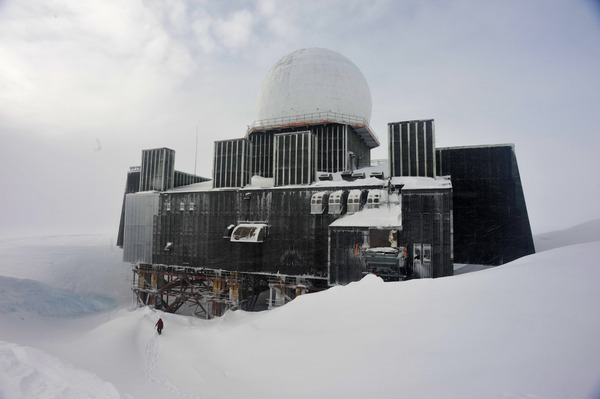 Заброшенная радарная станция в Гренландии