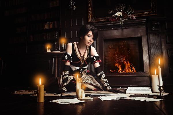 Фрингилья Виго и немного колдунства в библиотеке (косплей) косплей, белорусский косплей, ведьмак, ведьмак 3, Фрингилья Виго, длиннопост