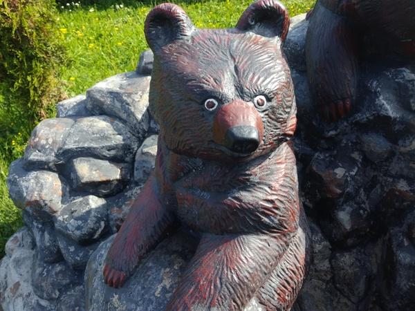 Памятник упоротости. медведь, Междуреченск, упоротость, этот взгляд, наркомания, длиннопост