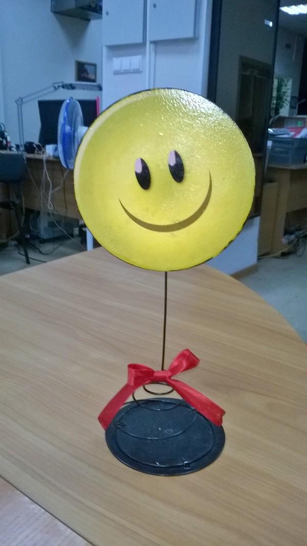 Индикатор настроения смайл, настроение, улыбка, своими руками, рукоделие без процесса, рукоделие, поднять настроение, юмор, длиннопост