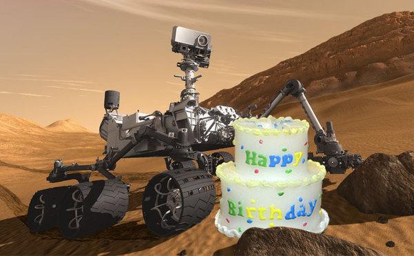 Да что вы знаете об одиночестве curiosity, день рождения, марс
